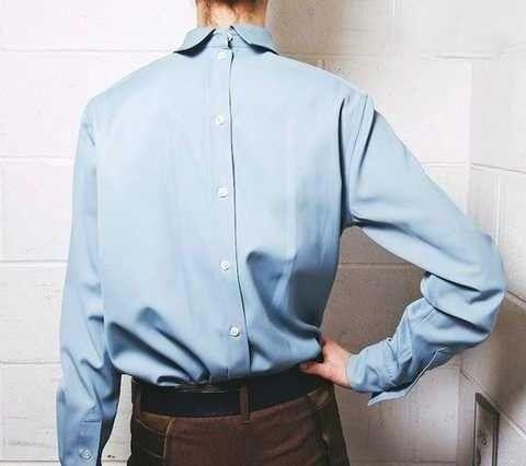 听说今年流行衬衫又有奇葩的穿法, 到底有多丑-