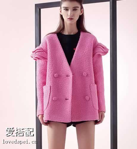 毛呢大衣塑造你的穿衣格调